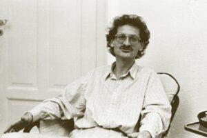 Gustl Angstmann; Foto: Michael Lucan (1986)