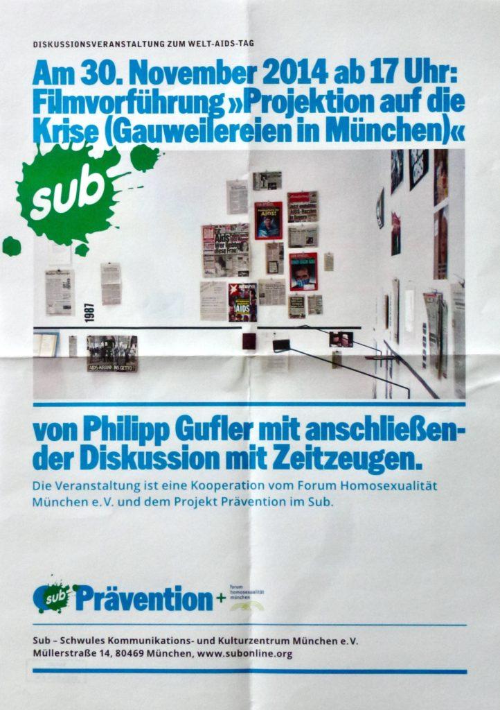Poster Gauweilereien 2014