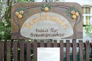 Denkmal für das ehemalige Treibhaus, Haus für Frauenprojekte in München