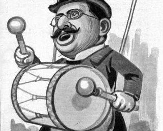 Karikatur Magnus Hirschfeld
